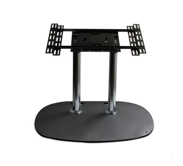 B-TECH Standfuß (VESA 600 x 400) - 0.5m Ø60mm Poles