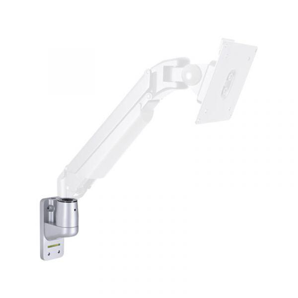 HAGOR Monitor Wand Adapter für Gas lift Arm|Single silber