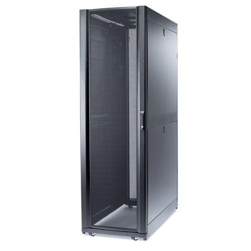 APC NetShelter SX Serverschrank mit Tür, Wänden und Dach (B/T:600x1200mm) 42U grau AR3300G