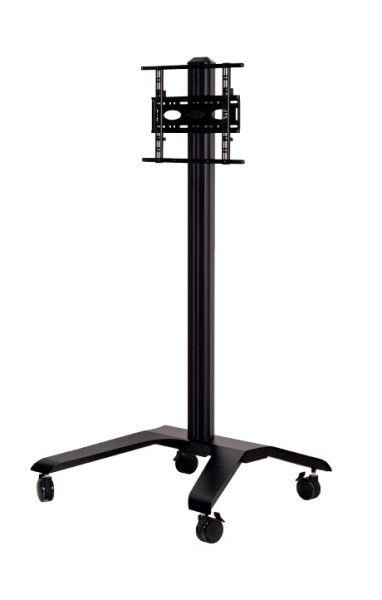 B-TECH Rollstand (VESA 600 x 400) - 1.9m BT8562/BB schwarz