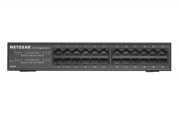 Netgear Switch 24Port Gigabit unmanaged GS324-100EUS