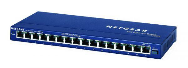 Netgear Switch 16Port FastEthernet L2 Unmanaged FS116GE