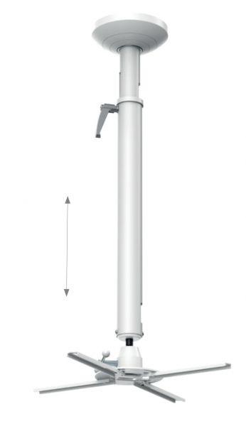 HAGOR Deckenhalterung Beamfix II 820 - 1200 mm