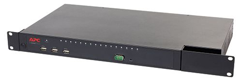 APC KVM Switch 16Port USB PS/2 Cat5 1U kaskadierbar KVM0216A