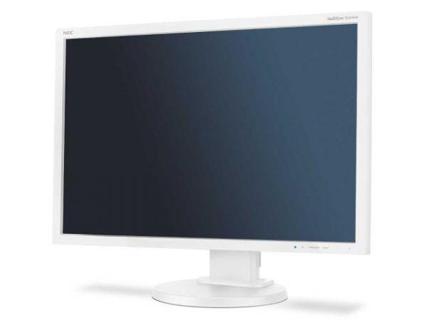 NEC MultiSync E245WMi white