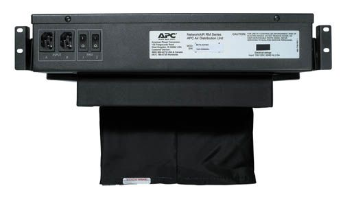 APC NetShelter Air Distribution Unit 2U RM 230/208V 50/60HZ schwarz ACF002