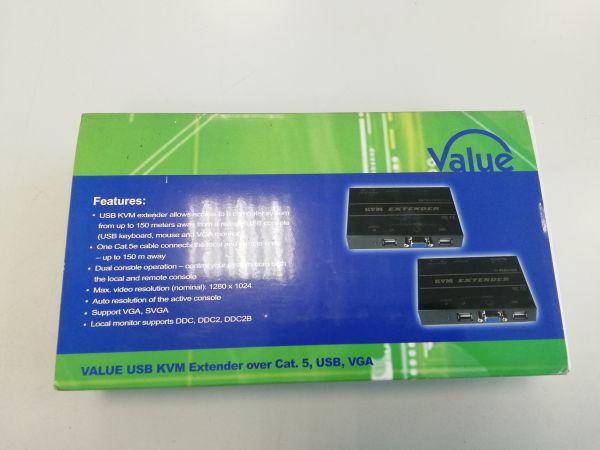 Roline KVM Extender über Ethernet RJ45 bis zu 150m 14.99.3328