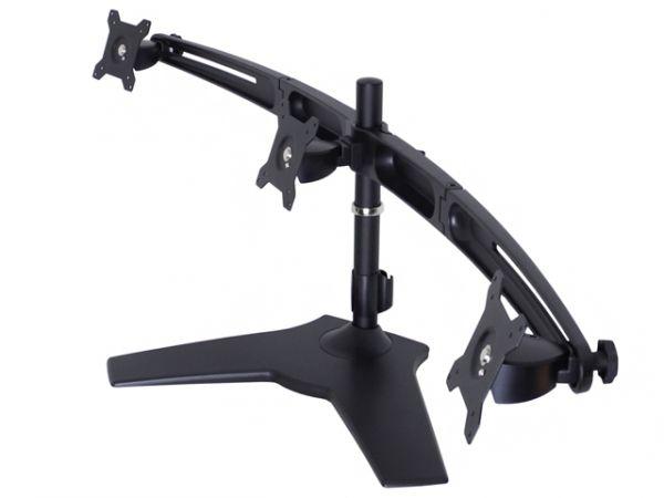 HAGOR Monitor Tischhalterung M VESA Triple Arm medium