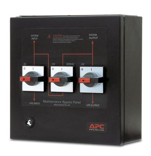 APC USV Smart-UPS VT Bypass Panel 400V SBPSU10K20HC1M1-WP