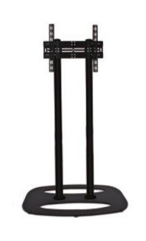 B-TECH Standfuß (VESA 600 x 400) - 1.1m Ø60mm Poles