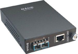 D-Link Medienkonverter RJ45 Gigabit zu SC Multimode 550m DMC-700SC/E