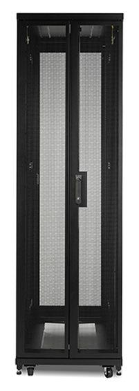 """APC NetShelter SV Serverschrank mit Tür und Wänden 19"""" (B/H:600x1200mm) 48U schwarz AR2507"""